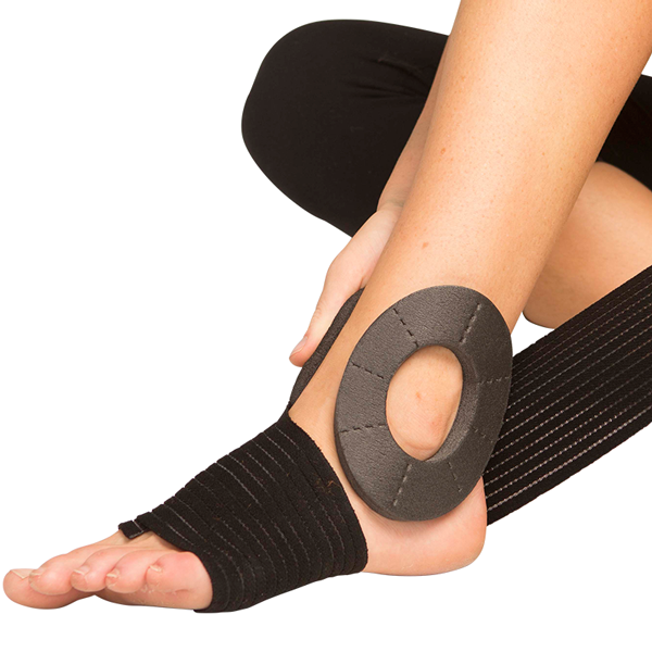 Ankle Wrap and Donuts